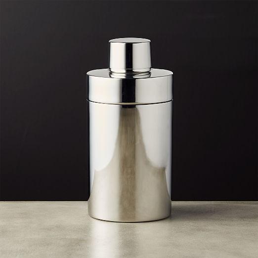 Column Stainless Steel Mini Cocktail Shaker