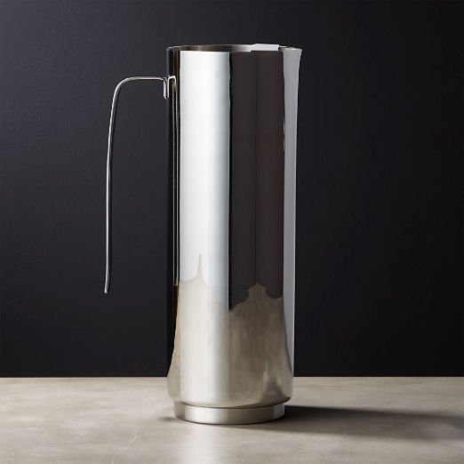 Column Stainless Steel Pitcher