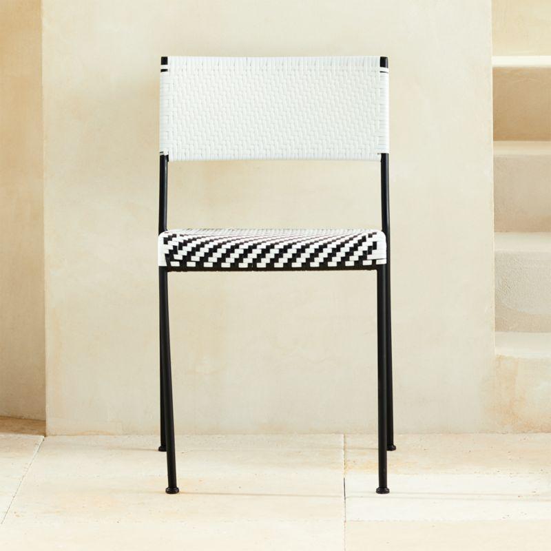 Condesa Woven Outdoor Dining Chair Cb2