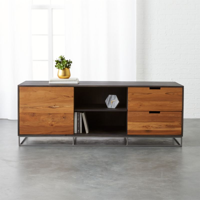 Charmant Congo Large Media Credenza