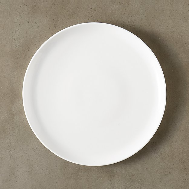 Contact White Dinner Plate Reviews Cb2