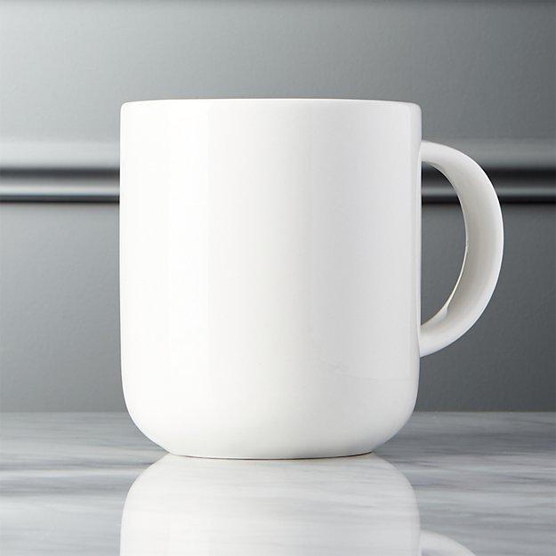 Contact White Mug - Image 1 of 5