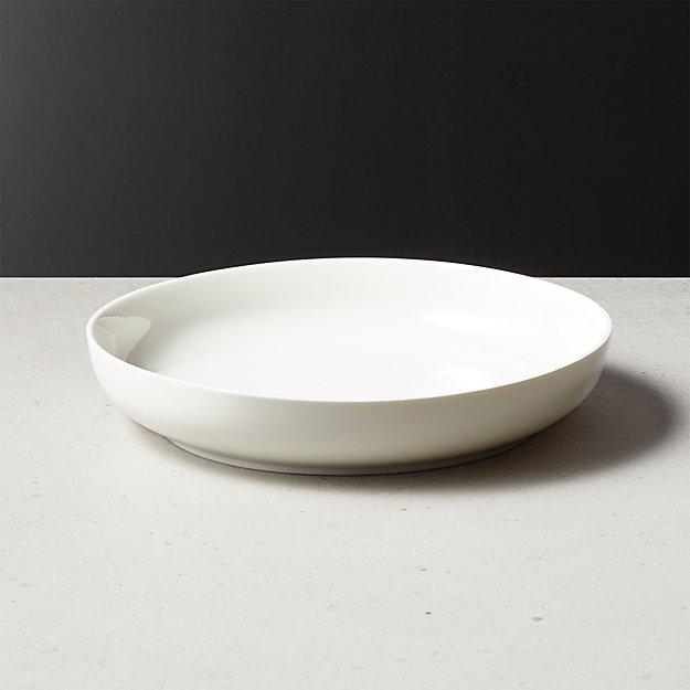 Contact White Pasta Bowl - Image 1 of 3