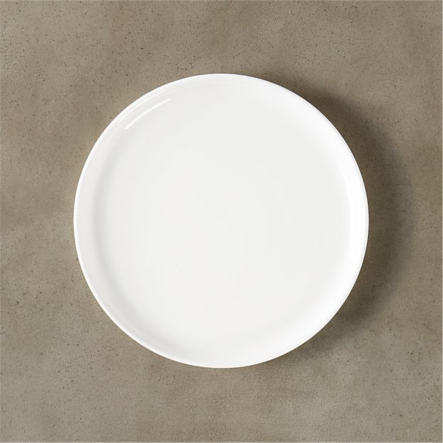 Contact White Salad Plate - Image 1 of 12