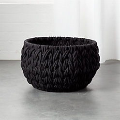 Conway Small Black Basket