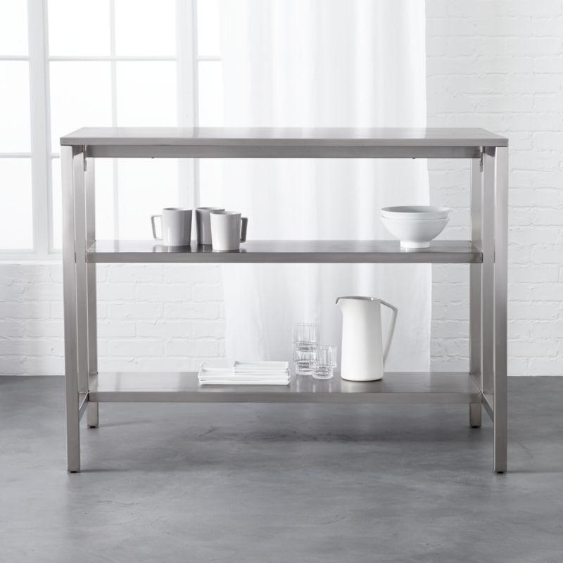 modern kitchen islands cb2