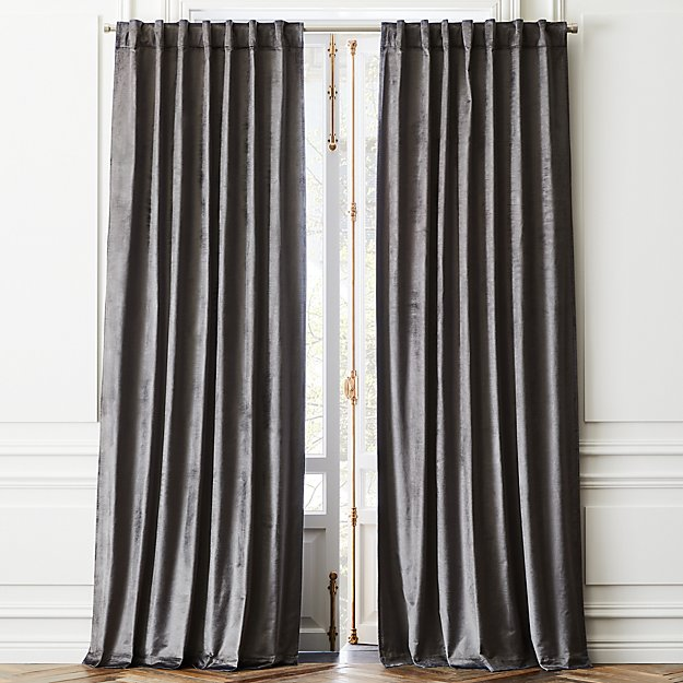 Cotton Viscose Dark Grey Panel - Image 1 of 2