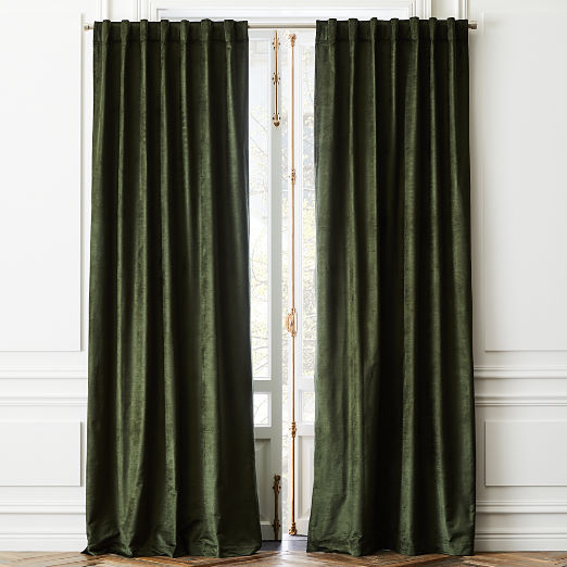 Cotton Viscose Evergreen Panel
