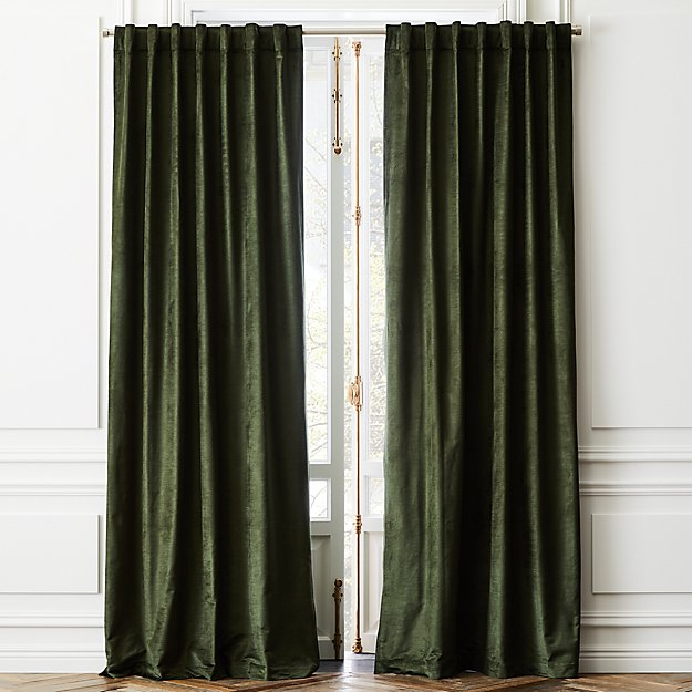 Cotton Viscose Evergreen Panel - Image 1 of 2