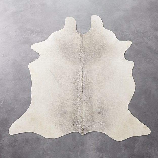 Light Cowhide Rug 5 X8 Reviews Cb2