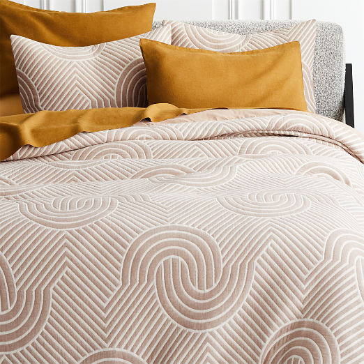Crescente Copper Duvet Cover