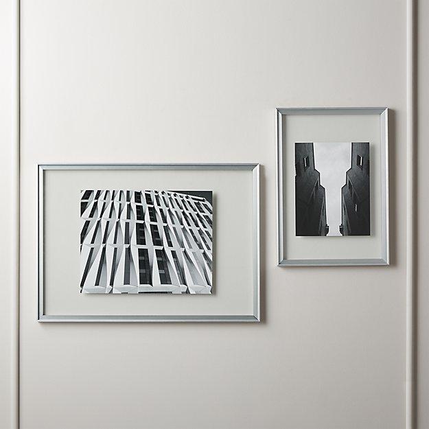 Cryo Silver Floating Frames Cb2