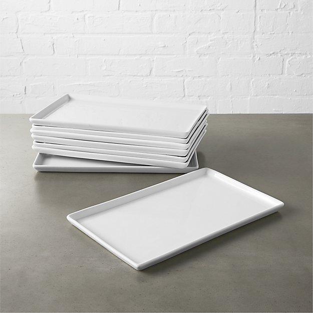 Set of 8 Cuatro Medium Platters - Image 1 of 4
