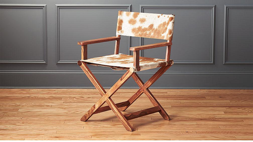 Curator Cowhide Chair Reviews Cb2