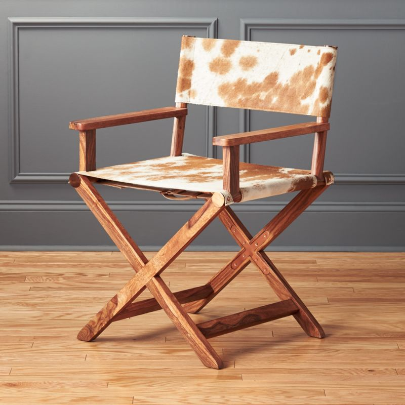 Superieur Curator Cowhide Chair