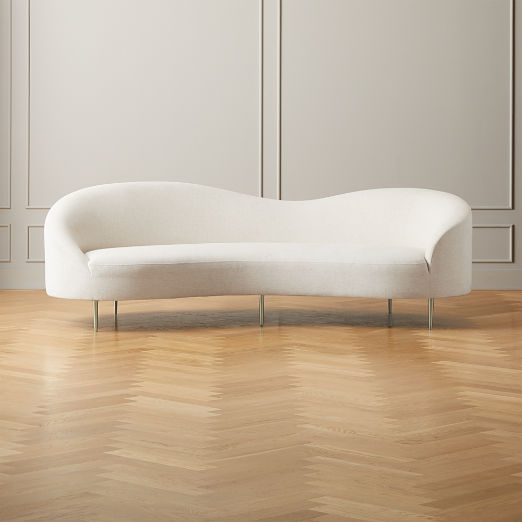 Curvo Snow Sofa