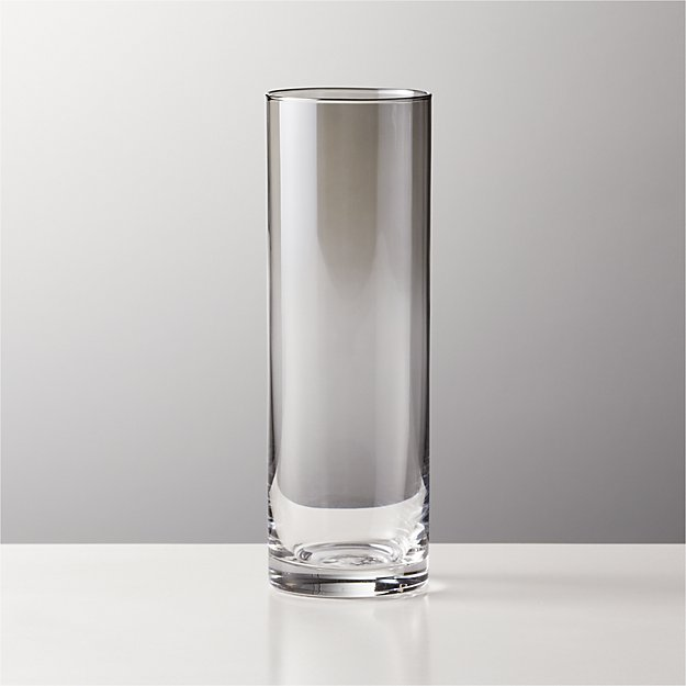 Cylinder Ombre Smoke Champagne Flute - Image 1 of 2