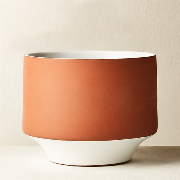 Cyrus Terracotta Planter - Image 1 of 4