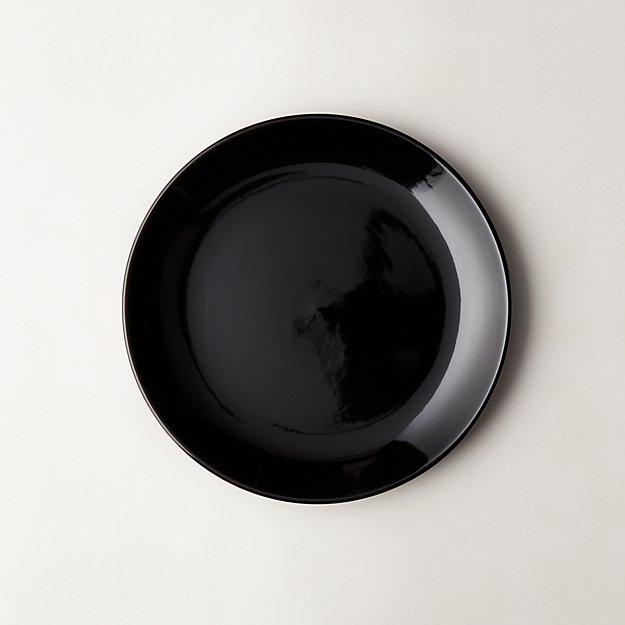 Daphne Black Salad Plate - Image 1 of 11