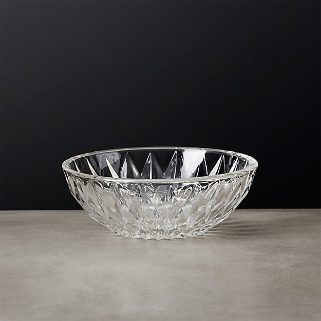 Daphne Glass Appetizer Bowl - Image 1 of 8