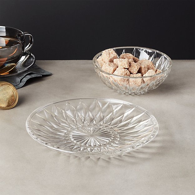 Daphne Glass Dinnerware Cb2