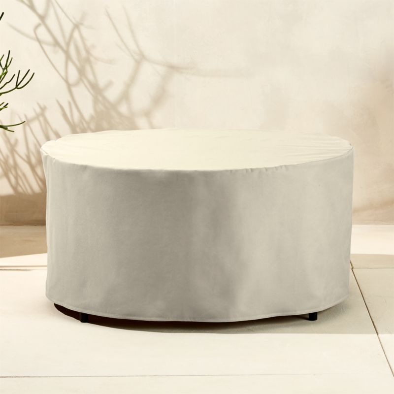 darbuka waterproof coffee table cover - Outdoor Furniture Covers CB2