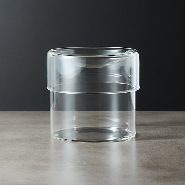 Dawson Small Round Glass Canister - Image 1 of 7