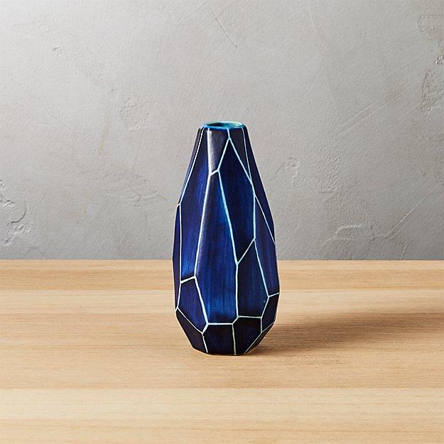 Dawson Blue Vase Reviews Cb2