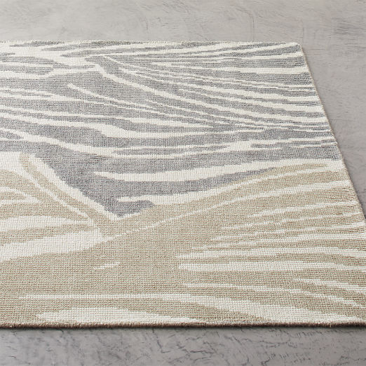Dazzle Handknotted Natural Rug
