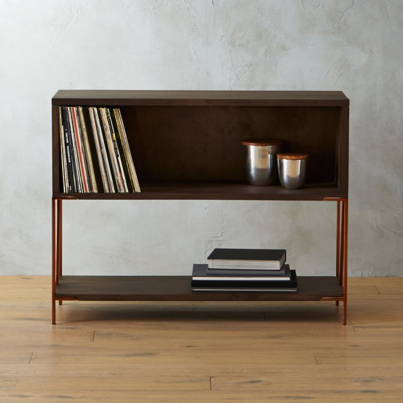 Superieur Dean Record Cabinet Console + Reviews | CB2