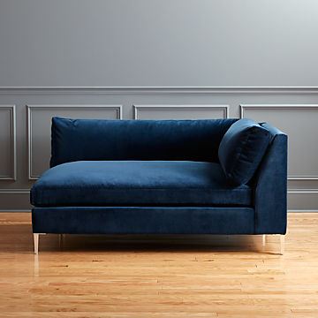 Tremendous Velvet Sofas Cb2 Onthecornerstone Fun Painted Chair Ideas Images Onthecornerstoneorg