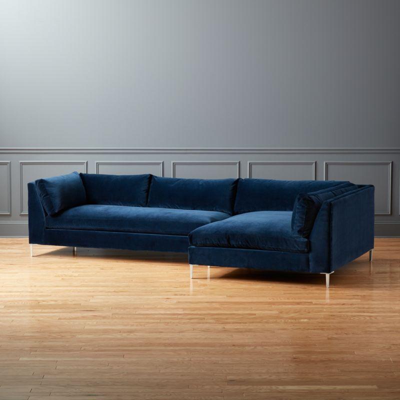 Decke Couch: Velvet Sofas