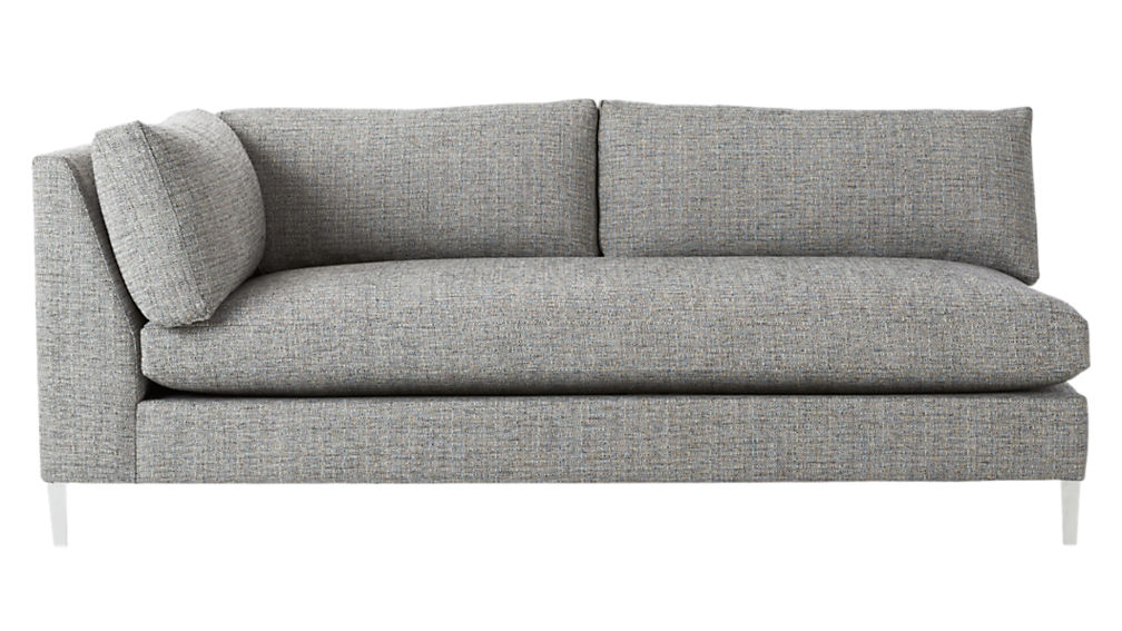 decker left arm wedge sofa reviews cb2 rh cb2 com left arm sofa right arm chaise left arm sofa sectional