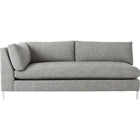 Cool Decker Left Arm Sofa Cb2 Pdpeps Interior Chair Design Pdpepsorg