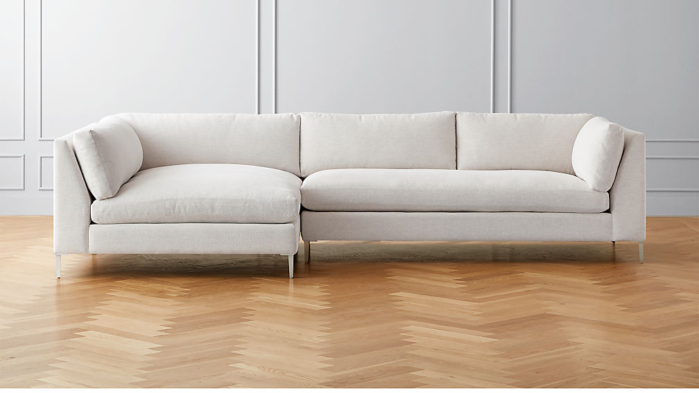 Decker 2-Piece Snow Sectional Sofa - Image 1 of 6