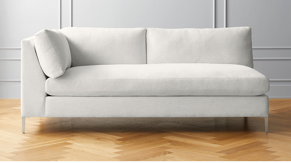 Decker Left Arm Snow Sofa - Image 1 of 5