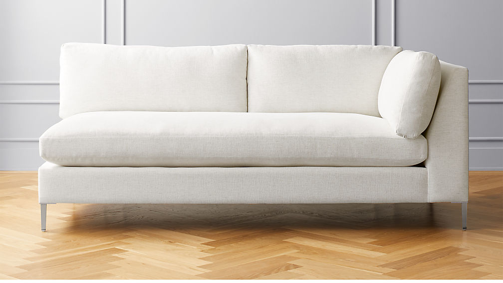 Decker Right Arm Snow Sofa - Image 1 of 6