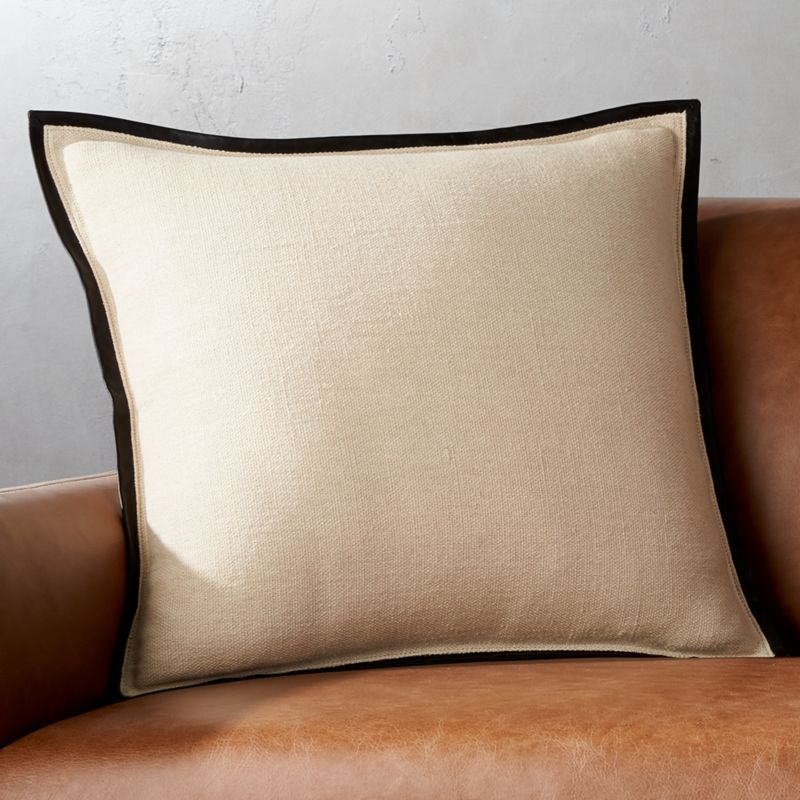 leather t pillows sueded designs main covers ballard pillow withoutzoom src throw