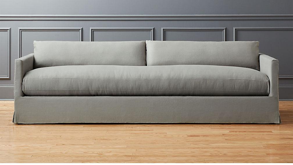 Delphine Linen Slipcover Sofa