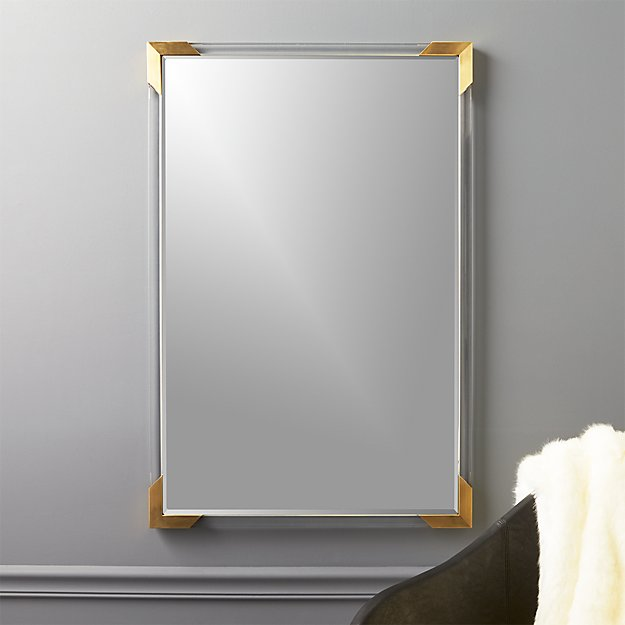 Demi Rectangle Acrylic Mirror - Image 1 of 7
