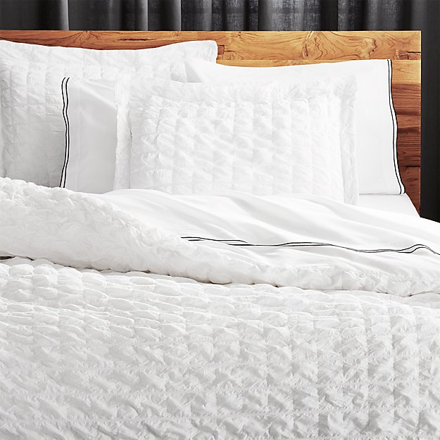 white twin duvet cover Desi White Pintuck Twin Duvet Cover + Reviews | CB2 white twin duvet cover
