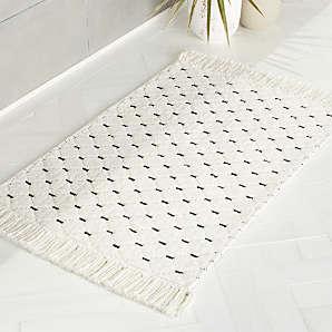 Modern Bath Mats Bathroom Runner Rugs, Cool Bathroom Rugs