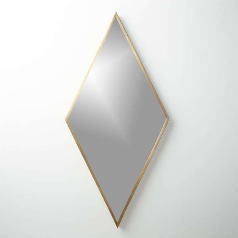 Diamond Brass 21 75 Quot X45 Quot Wall Mirror Reviews Cb2