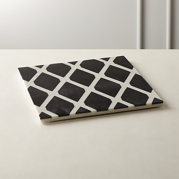 Dita Marble Serving Board - Image 1 of 4