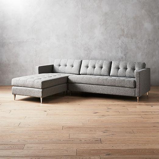 Modern Grey Sofas | CB2