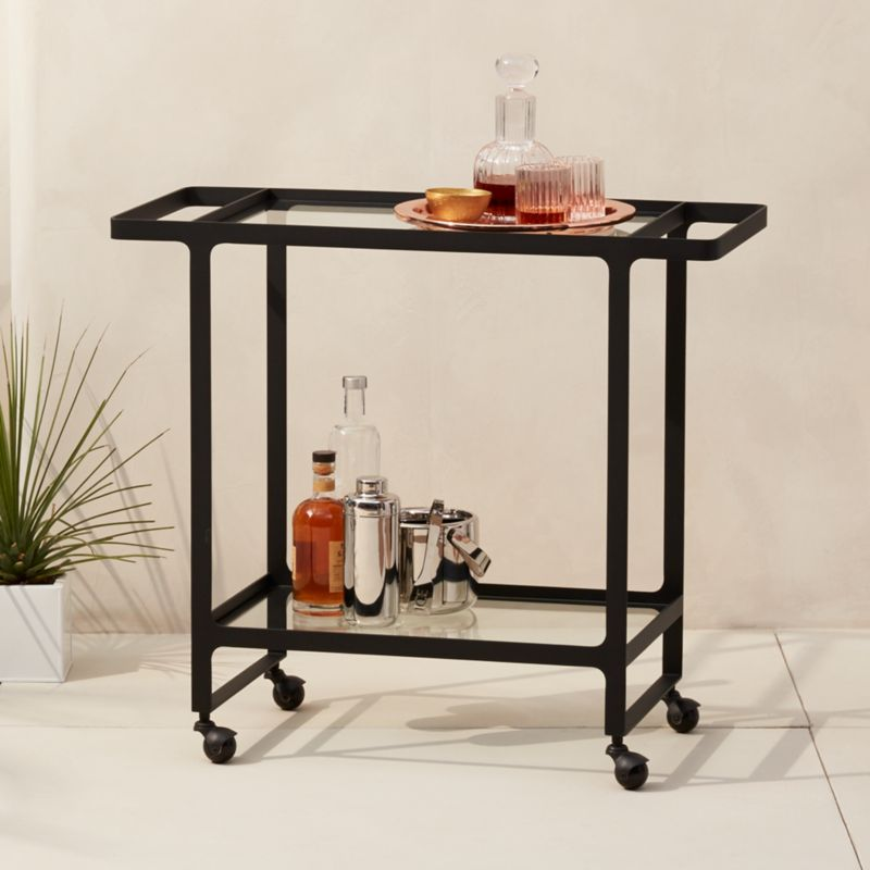 Minimalistic Furniture Inside Dolce Vita Outdoor Bar Cart Minimalist Furniture Cb2