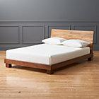 Dondra Teak Full Bed (mattress sold separately).