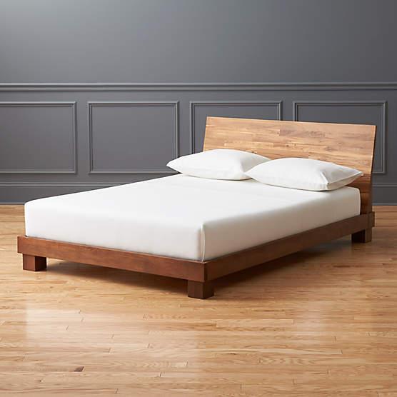 Dondra Teak King Bed Reviews Cb2, Teak Queen Bedroom Set