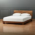 Dondra Teak Queen Bed (mattress sold separately).