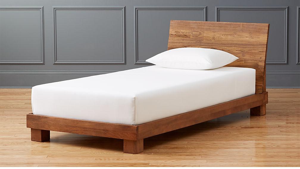 Ebern Designs Nageshwar Platform Bed Reviews: Dondra Teak Twin Bed + Reviews